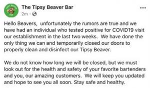 Tipsy Beaver Bar