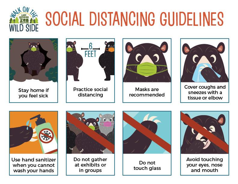 Zoo Social Distancing