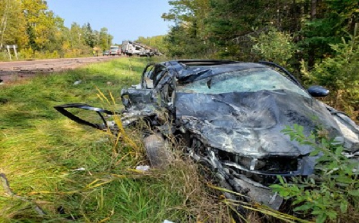 Bayfield Co Crash