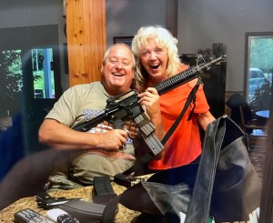 Bob With Guns And Loretta