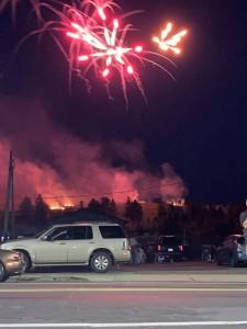 Eveleth Fireworks 2