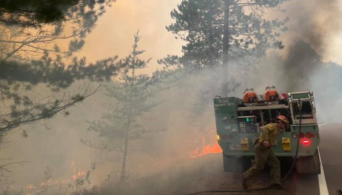 Greenwood Fire Update