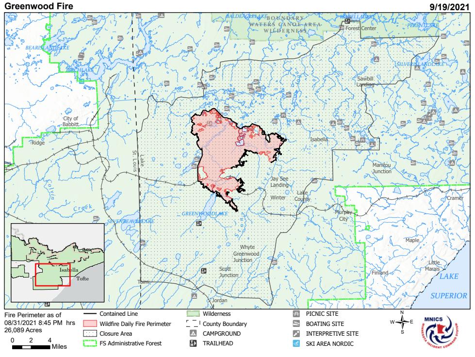 Greenwood Fire Map 9 19